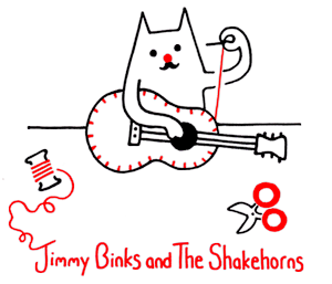 Jimmy Binks and The Shakehorns Website